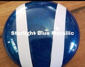 Bonnet ornament- Metallic Blue