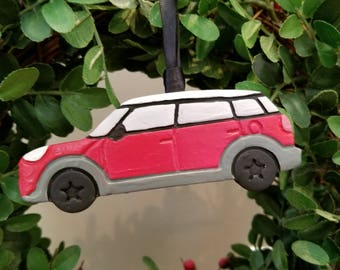 Car large 4 door 'Countryman' ornament