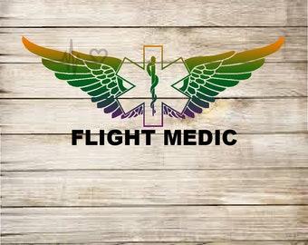 Flight Medic vinyl decal