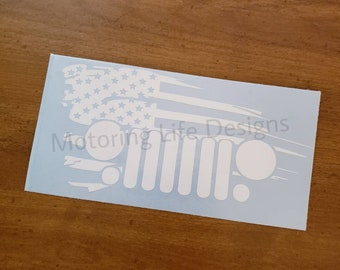 American Jeep vinyl decal