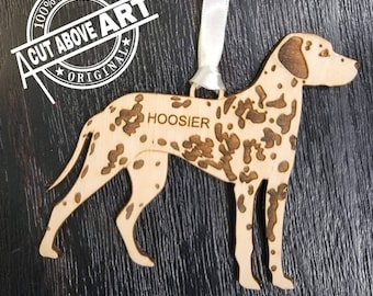 Dalmatian Personalized Ornament