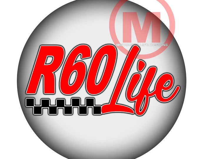 """Grill Badge- R60 Life 3"""" magnetic grill badge"""
