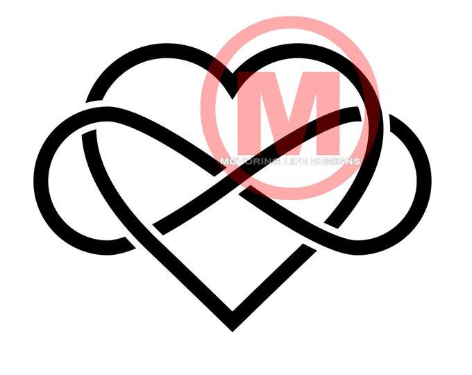 Love Forever vinyl decal