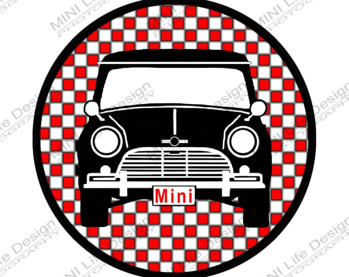 "Grill Badge- Classic  3"" magnetic grill badge"