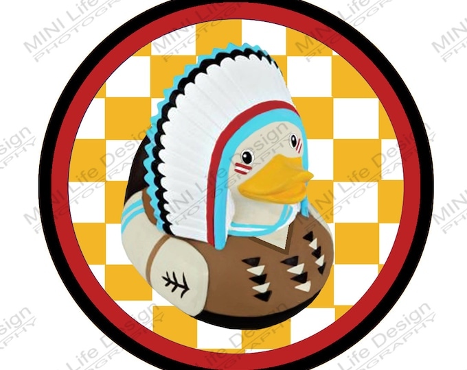 "Grill Badge- Turkey Duck 3"" magnetic grill badge"