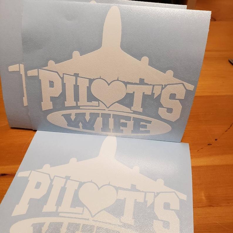 Pilot/'s Wife vinyl decal