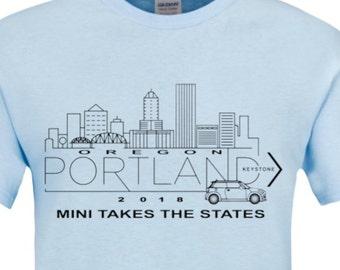 MTTS 2018.... Portland to Keystone  t-shirt