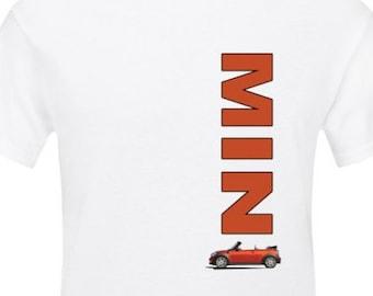 MINI Convertible Spice Orange t-shirt