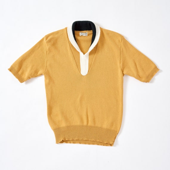 Vintage 1960s Knit Pullover Small