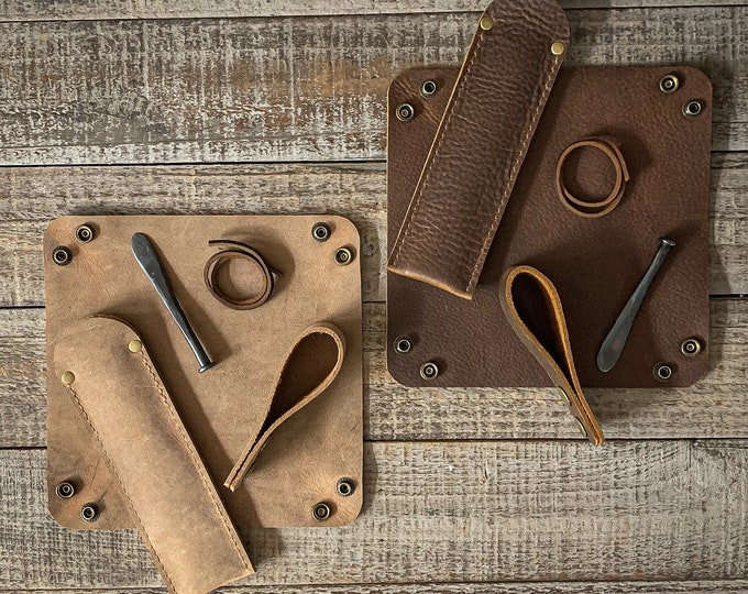 Featured listing image: Pipe Essentials Collection - Various Leather Types