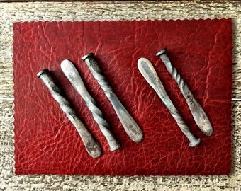 Blacksmith Hand Forged Rustic Tampers and Railroad Date Tampers