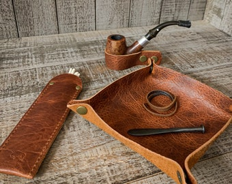 Pipe Essentials Collection - Various Leather Types