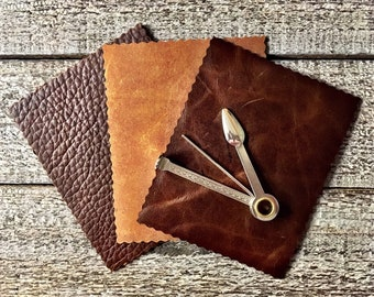 Leather Tobacco Mat for Drying and Preparing
