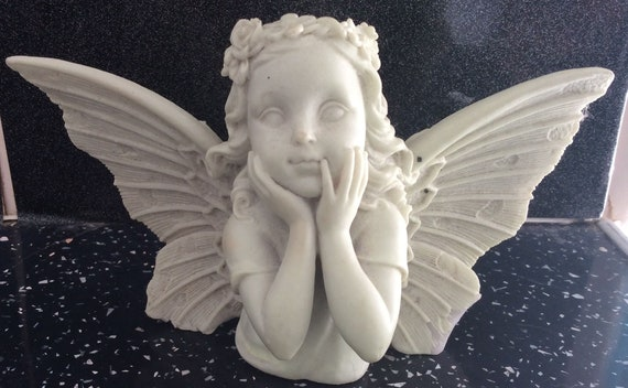 Latex Rubber Mould to Create a Cherub Candle Holder for your Home or Gift Idea