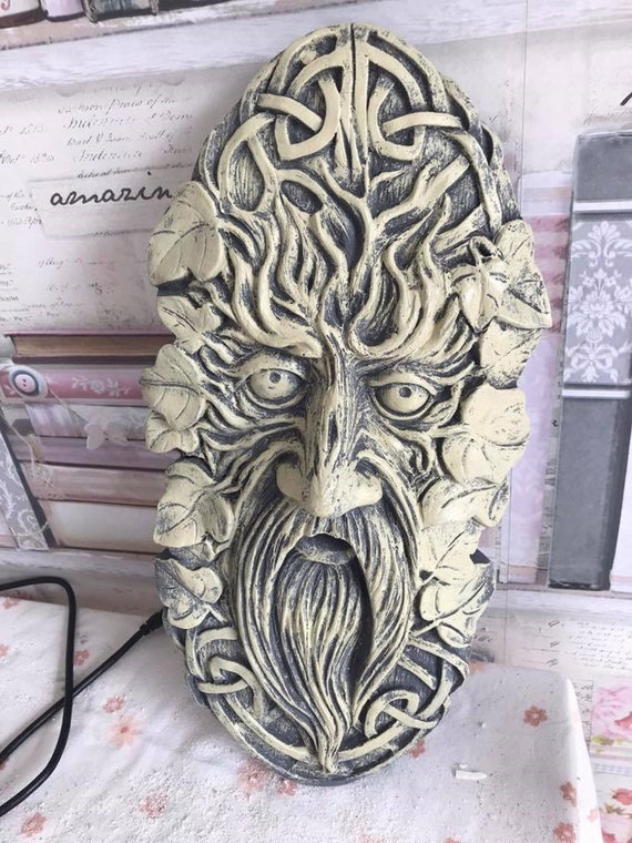 Latex Mould for making this cute Tree face plaque