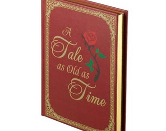 Wedding Ring Bearer Box Pillow Alternative The Wedding Rings Holder Red/Gold Book Box