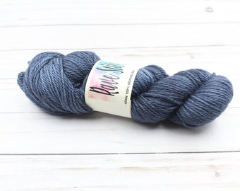 Aaron weight 100% Merino hand dyed super wash yarn
