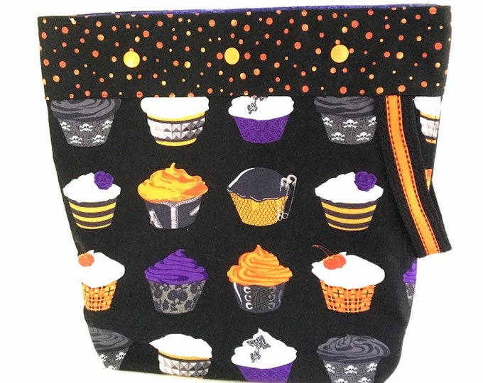 Halloween Project Bag w/ Snaps, 12x13 inches