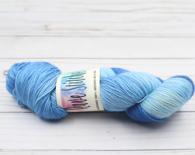 100% super wash variegated 4 ply fingering merino yarn