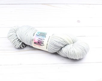Aran, worsted weight 100% Merino hand dyed super wash yarn