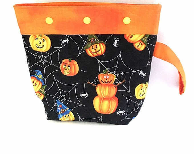 Halloween Project Bag w/ Snaps