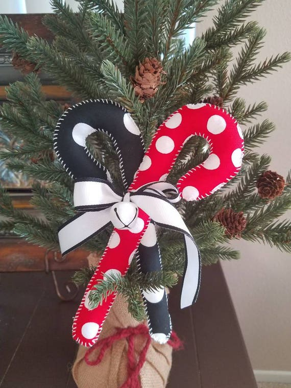 mickey minnie home decor handmade christmas candy canes mickey minnie candy cane ornaments christmas accent