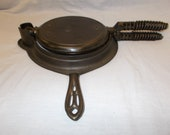 Griswold Best Made waffle iron No. 8