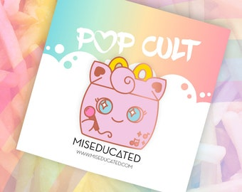 PREORDER Pokemeal Happy Jiggly Puff Meal Box Pin