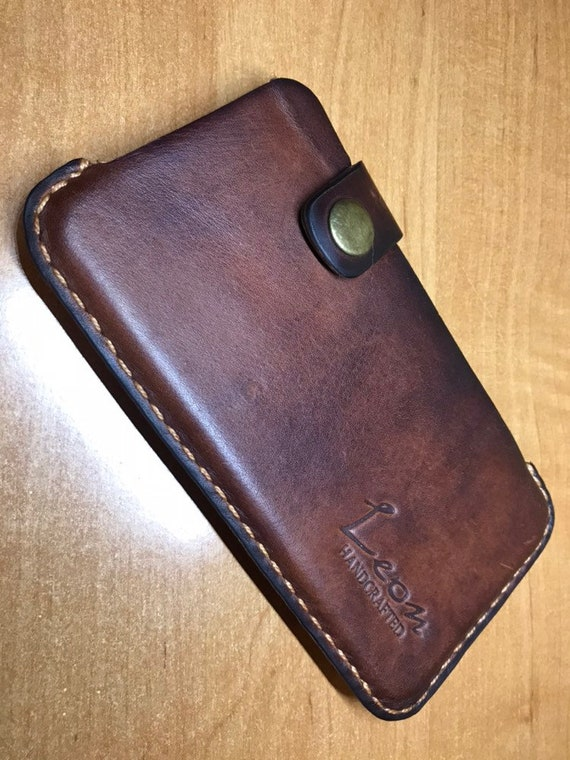Grainy Leather iPhone 6 Plus Cover