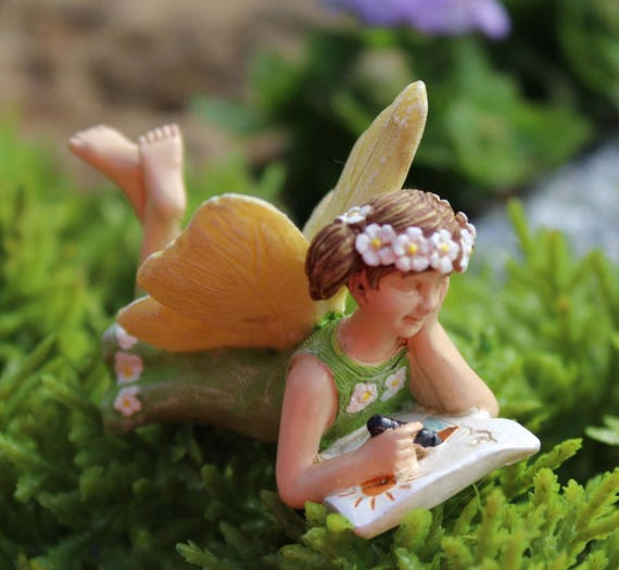 Fairy Accessories School Fairies Figurine Miniature Fairy | Etsy