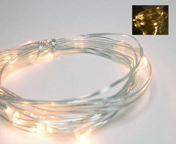 Led Fairy Lights Battery Operated White Light Strands