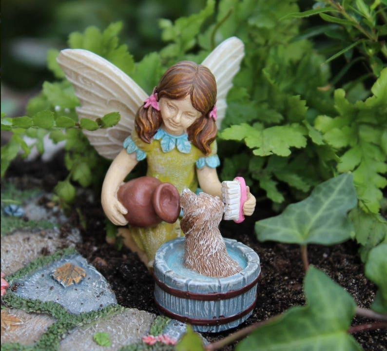 Fairy Jardins Figurines Les Fille Terrarium Supplyamp; Fée Accessoires ~ Décorations De Fournitures Petite Fées Garden Miniatures Pour XuOPZikT