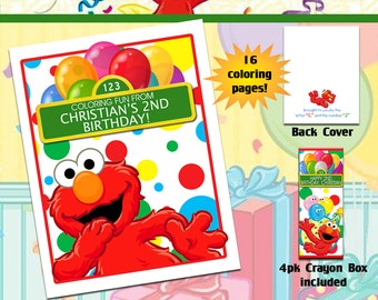 Sesame Street - Free printable Coloring pages for kids   270x340
