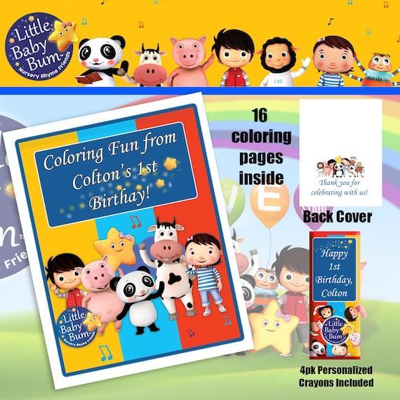 Livre De Coloriage Petit Bebe Bum Crayons De Etsy