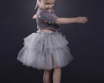 Couture grey Tutu