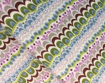 Voyage Mosa mandarín por Kate España de Moda 1//2 yarda de tela de algodón para edredón