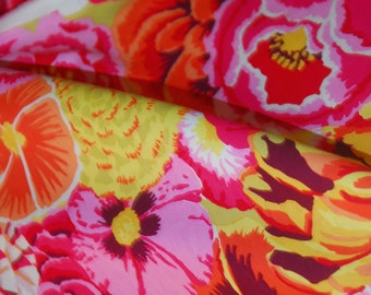 Kaffe Fassett Floral Fabric -Bekah - Phillip Jacobs for Rowan - CT 884424009661 100% Quality Cotton