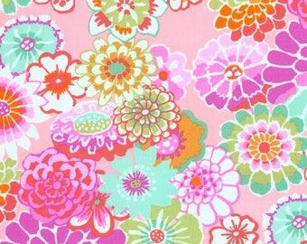 Kaffe Fassett- Asian Circles- pink- GP89- Phillip Jacobs for Rowan - CT120211- Designer - Modern - 100 Percent