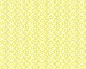 Kanvas Studios -Lemon Twist-Optic Circles Lemon--8411 33-CT121996-100% quality cotton