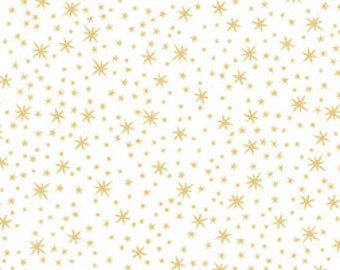 Quilting Treasures-Holiday Metal Stars-23544 ZS-CT122236-100% Quality Cotton by the Yard or Yardage