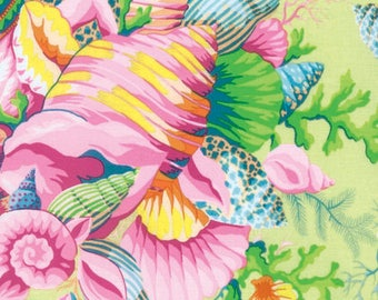 Kaffe Fassett Floral Fabric -Bekah- GP69 yellow- CT121006 - Phillip Jacobs for Rowan - 100% Quality Cotton