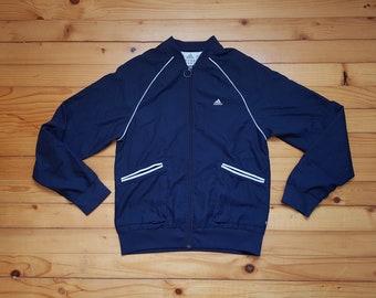 8c3d32c4a88 Vtg ADIDAS bomber windbreaker jacket collage • 80s 90s Hip hop Rap Vintage  Retro Old school   Nike Hilfiger Gucci Kappa Kani Versace  size S