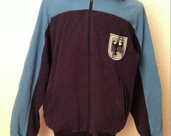 9c9e3f1e0ad Vtg Germany Military track jacket bomber windbreaker • 80s 90s Hip hop Rap  Vintage Retro Old school   Nike Adidas Hilfiger Kappa Puma   sz L