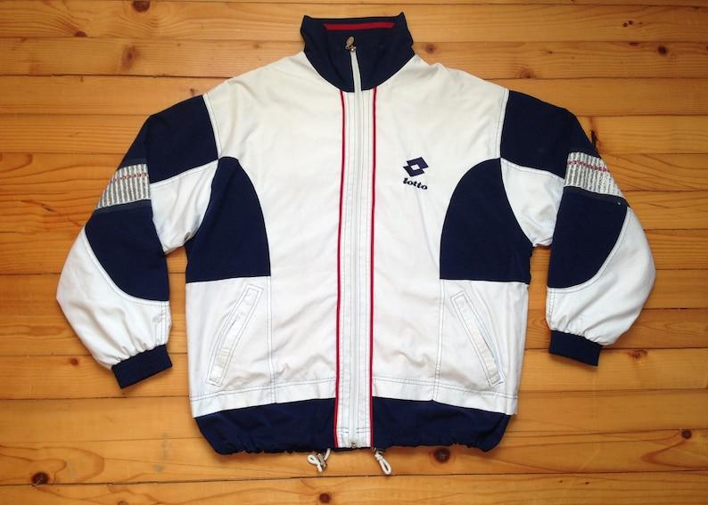c989cafa8fb0 Vtg LOTTO windbreaker jacket 80s 90s Hip hop Rap Vintage