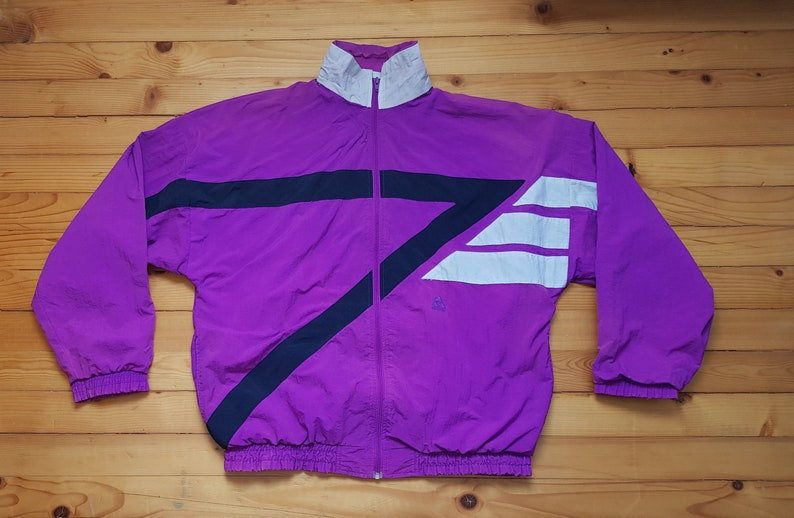 2f9dec1c86b Vtg ACTIVE windbreaker jacket 80s 90s Hip hop Rap Vintage | Etsy