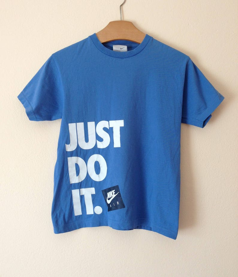 4d02580e7ed Vtg NIKE Just Do It tshirt tee shirt   80s 90s Hip hop Rap