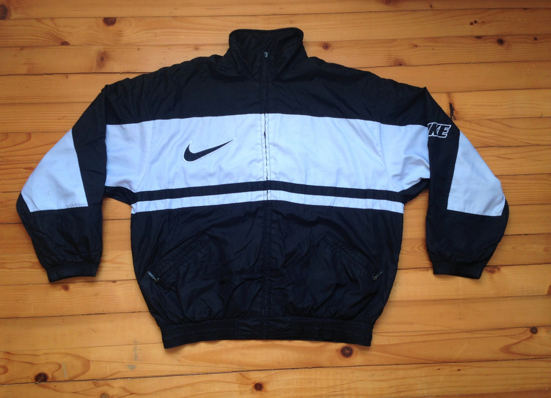 d76cf5865a5c Vtg NIKE windbreaker jacket 80s 90s Hip hop Rap Vintage