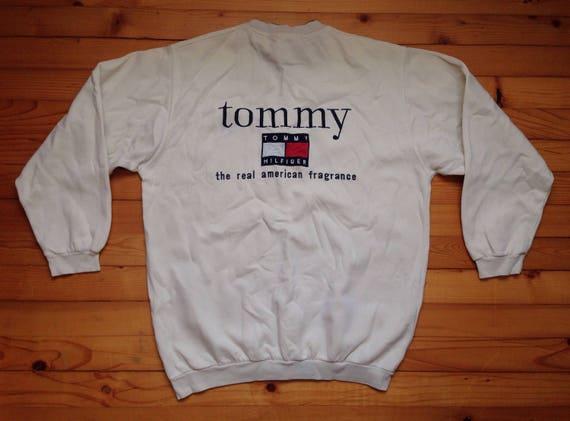 Vtg Tommy Hilfiger Sweatshirt 80s 90s Hip Hop Rap Vintage Etsy