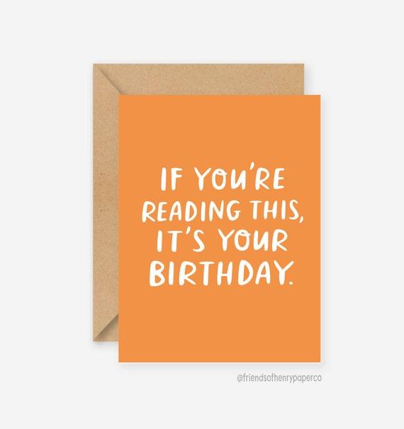Lustige Geburtstagskarte Grusskarten Lustige Freund Etsy