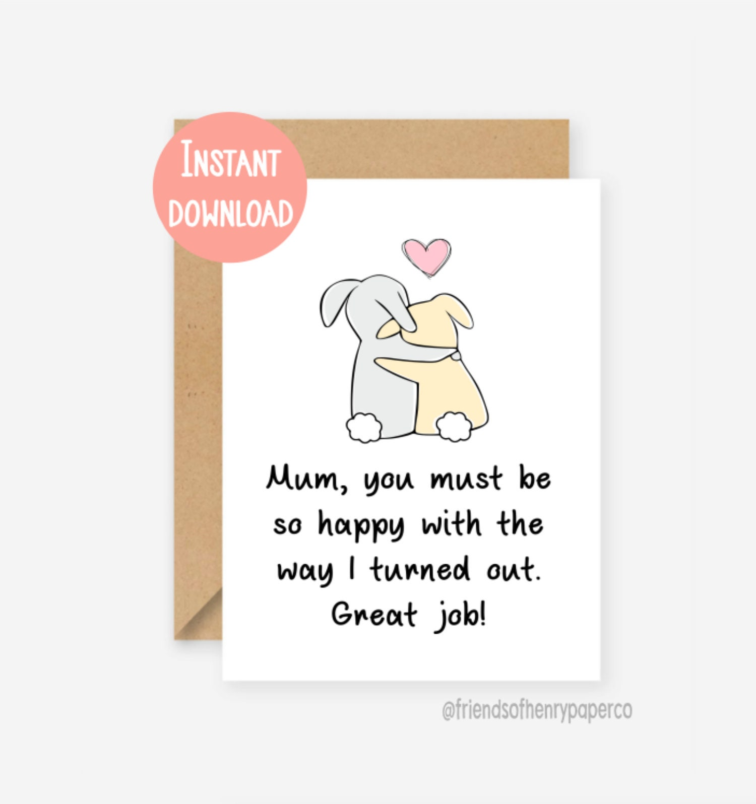 picture regarding Printable Funny Mothers Day Cards referred to as Printable, humorous Mum card, amusing moms working day card, amusing mother birthday card, mum birthday card, card for mum, thank on your own mum, birthday card
